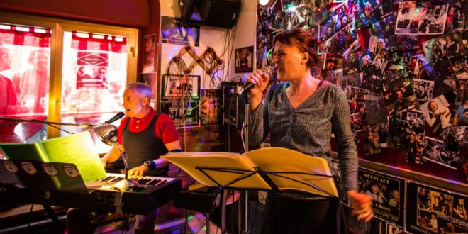 """The Ladies Sing The Blues"".  8 giu. al cafè Rossetti a Trieste."