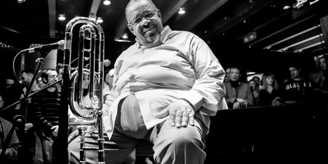 Martedì 9 mag-21.30 Teatro Miela  Miela Music-Live FRED WESLEY & The New JB's