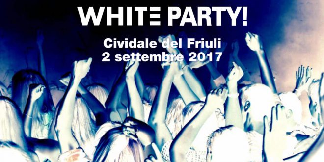 Dopo Color Run arriva la WHITE RUN CIVIDALE DEL FRIULI 2 SET. 2017
