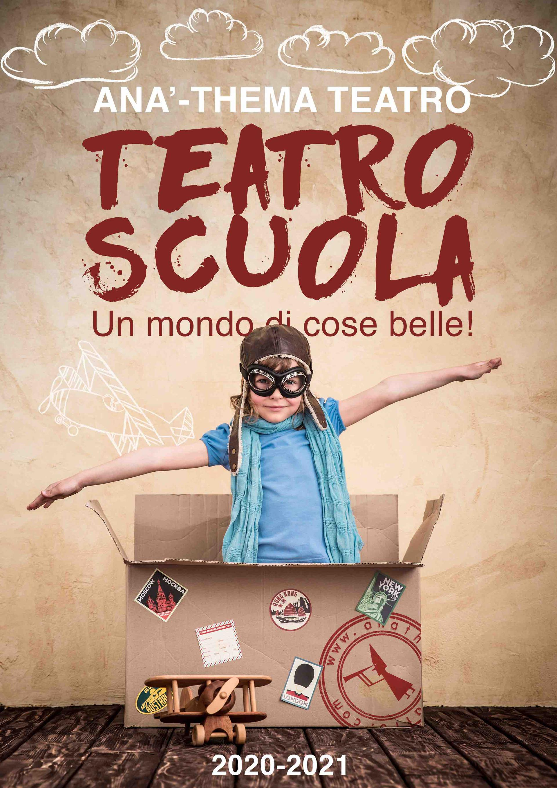 Anà-Thema Teatro:Favola a merenda e Cena con delitto ON LINE