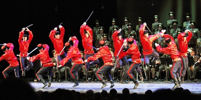 THE RED ARMY CHOIR, ORCHESTRA AND BALLET da record a Trieste,