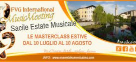Al via il 10 luglio il XXIV FVG International Music Meeting Sacile EstateMusicale